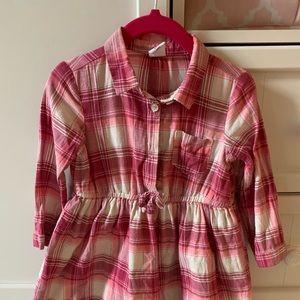 GAP Dresses - GAP Toddler Girl Plaid Dress, like new, Size 2T